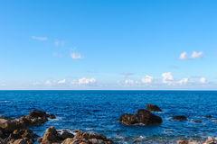 Pacific coastline along north east taiwan Stock Image