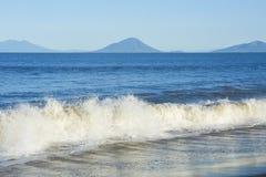 Pacific Coastline in Honduras Royalty Free Stock Photo