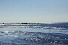 Pacific. Coastline of Pacific ocean royalty free stock photography