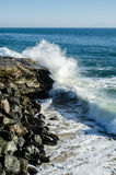 Pacific Coastline Royalty Free Stock Photography