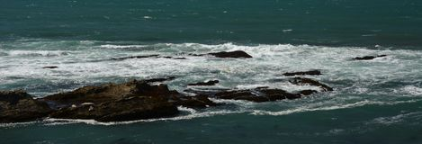 Pacific coasts Impressions of Point Arena Light, California USA Stock Photos