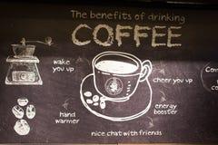 Pacific Coffee interio Stock Photo