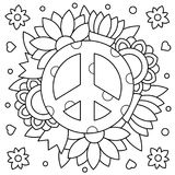 Pacific. Coloring page. Vector illustration. Pacific. Coloring page. Black and white vector illustration Royalty Free Stock Photography