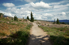 Pacific Crest Trail. A portion of the pacific crest trail Stock Photos