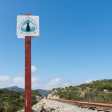 Pacific Crest Trail Sign royalty free stock photography