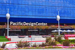 Pacific Design Center In Los Angeles Royalty Free Stock Image