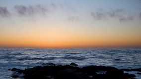 Pacific grove sunset loop stock video footage