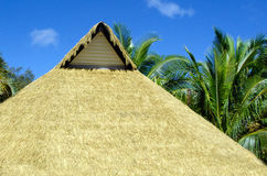 Pacific Island Hut Stock Photography
