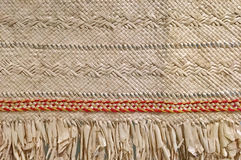 Pacific island weaving artwork Royalty Free Stock Images
