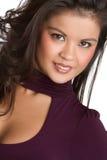 Pacific Islander Woman Stock Photo