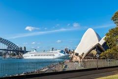 Pacific Jewel Cruise Ship Royalty Free Stock Photo