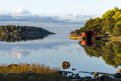 Pacific morning in Jerso 2. Aland royalty free stock photo