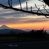 Pacific Northwest sunrise royalty free stock photo