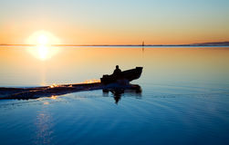 Pacific Northwest Sunset Stock Photo