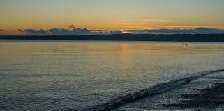 Pacific Northwest Sunset Stock Image