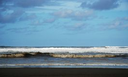 Pacific Ocean. From the Washington coast royalty free stock image