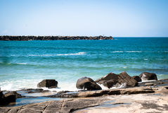 Pacific ocean. In Australia, New South Wales Stock Photography