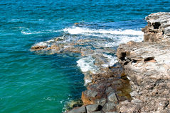 Pacific ocean. In Australia, New South Wales Royalty Free Stock Photography