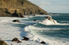 Pacific ocean Royalty Free Stock Images