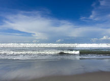 Pacific ocean beach Stock Photography