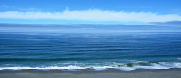 Pacific ocean Royalty Free Stock Image