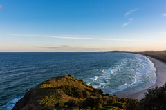 Pacific Ocean from Cape Byron in Australia at sunset Royalty Free Stock Photo