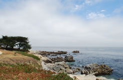 Pacific Ocean coast. This is the photo of Pacific Ocean coast, California, USA Stock Photography