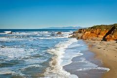 Pacific Ocean coast. California, USA Stock Photos