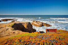 Pacific Ocean coast Stock Image