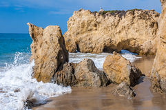 Pacific ocean coast Royalty Free Stock Photography