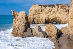 Pacific ocean coast Royalty Free Stock Image
