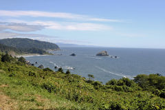 Pacific Ocean Coastal View Stock Images