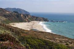 Pacific Ocean Coastline Stock Photo