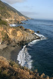 Pacific Ocean Coastline Royalty Free Stock Photos