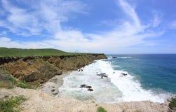 Ocean and cliffs, Ecuador, South America Stock Photos