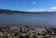 Pacific Ocean Coastline, Half Moon Bay Royalty Free Stock Photos