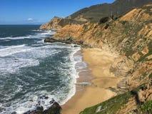 Pacific Ocean Coastline, Half Moon Bay Royalty Free Stock Photography