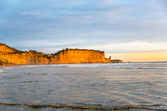 Pacific Ocean and Golden Light Royalty Free Stock Photos