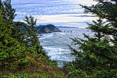 Pacific Ocean HDR Royalty Free Stock Photos