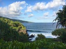 Pacific Ocean at Kuola Point Stock Photo