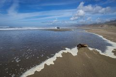 Pacific Ocean, Northern California Royalty Free Stock Images