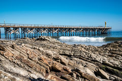 Pacific Ocean Pier Royalty Free Stock Photo