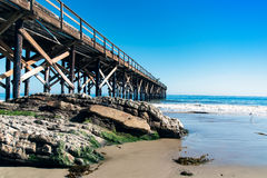 Pacific Ocean Pier Royalty Free Stock Photos