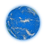 Pacific Ocean on planet Earth Royalty Free Stock Photos