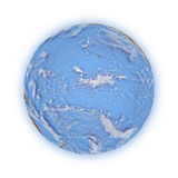 Pacific Ocean on planet Earth Stock Photography