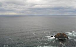 Pacific Ocean Rocks Two. Pacific ocean coastal rocks royalty free stock photo