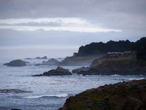 Sonoma County Shore line Royalty Free Stock Photography