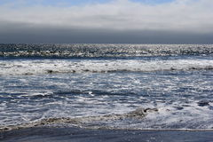 Pacific Ocean. Shorline on a summer day royalty free stock images