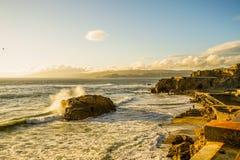 Pacific Ocean Sutro baths Stock Photos