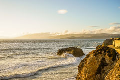 Pacific Ocean Sutro baths Royalty Free Stock Photography